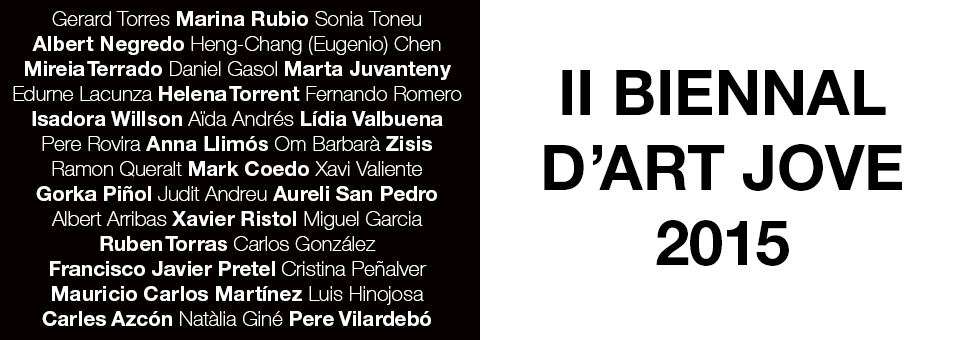 Bienna d'Art Jove sabadell 2015